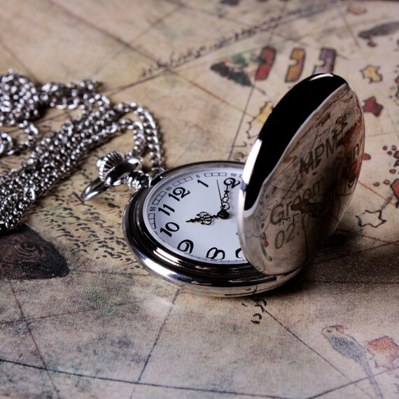 Wedding Gift For Husband Watch : Watch, Groomsmen Gift, Mens Pocket Watch, Fathers Day Gift, Wedding ...