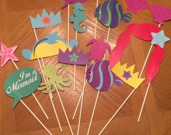 Little Mermaid Props (10)