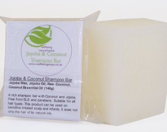 Jojoba & Coconut Shampoo Bar