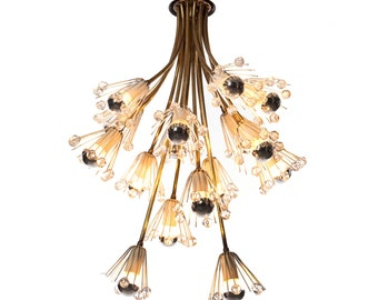 Emile Steinar | 16 light chandelier | 1960's