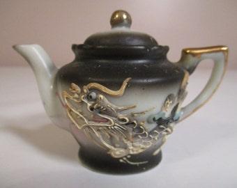 Tiny Japanese Dragon Teapot