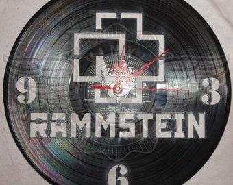 Vinyl Wall Clock RAMMSTEIN