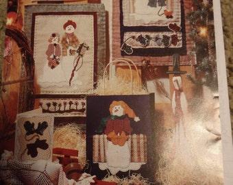 snowman quilt pattern, snowman pattern, snowman applique pattern, snowman decor