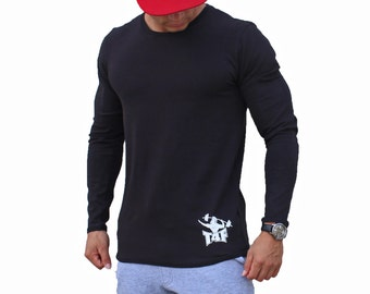 Lonf Sleeve Fitted Tee