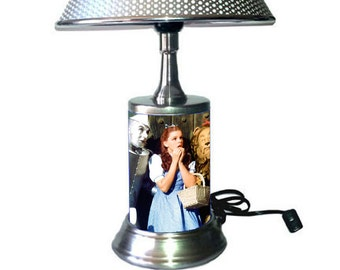 Wizard of oz Lamp with chrome shade