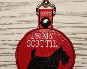 I love my Scottie dog key chain