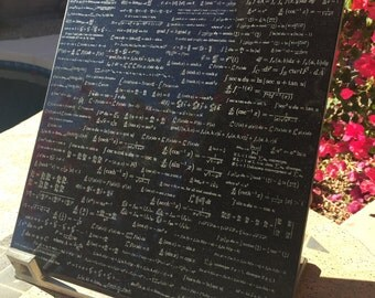 Advanced Calculus Formula Tile