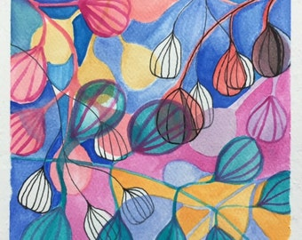 Abstract Pattern Late Winter -Original Painting