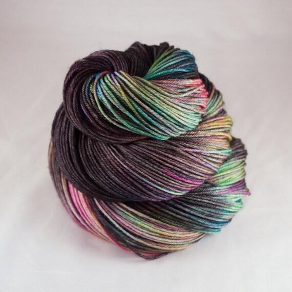 Hand Dyed Sock Yarn, hand dyed wool, variegated sock yarn, nylon sock ...