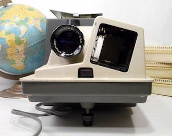 Wollensak 835 Projector, Vintage Slide Trays