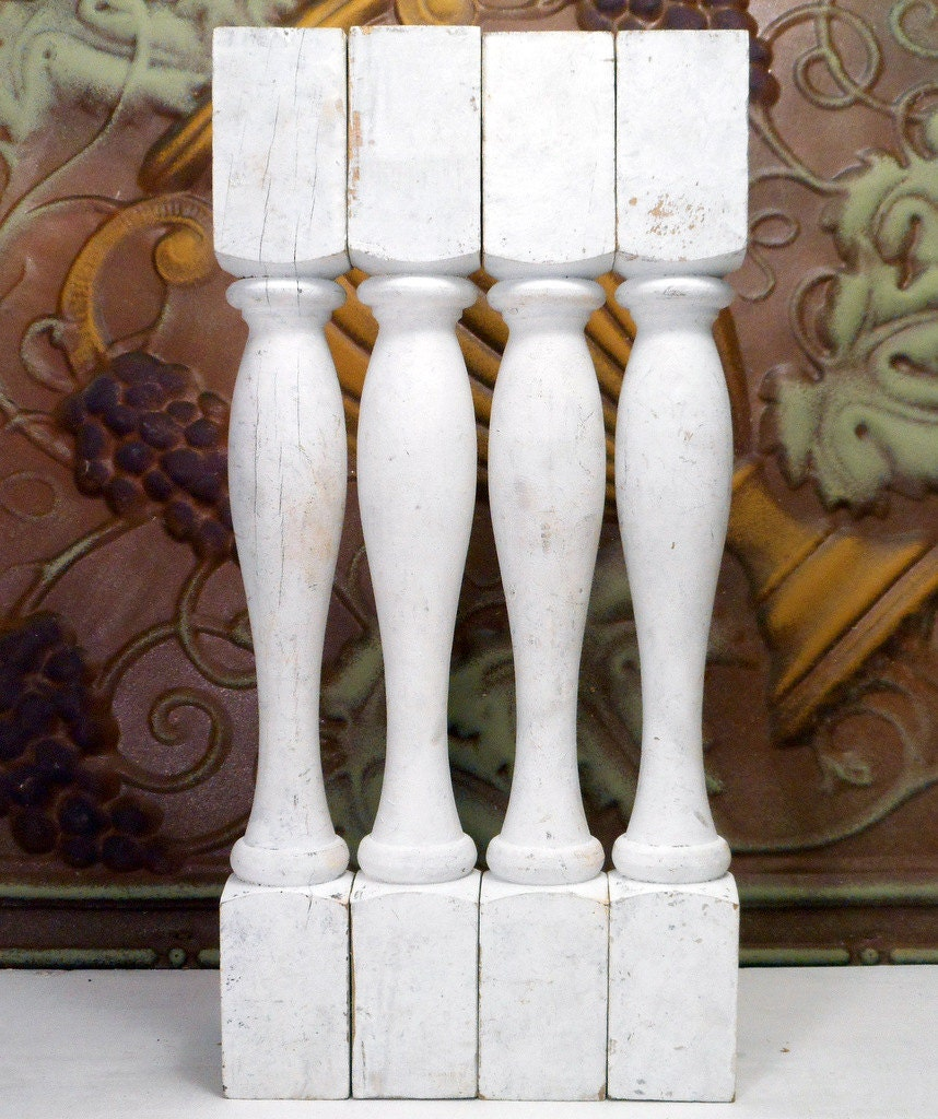 Reclaimed Wood Balusters Stair Spindles For Repurpose Project