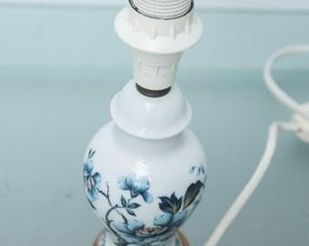 LIMOGES France LAMPE blue