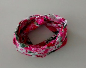 Infinity scarf - Floral
