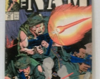 1990 The Nam #48  The C-Note  Good Condition Vintage Marvel Comic Book