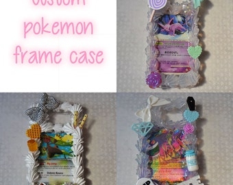 MADE TO ORDER: Custom pokemon card decoden whipped cream case for iphone/android/3DS+More