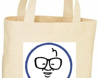 Harry Caray image tote bag