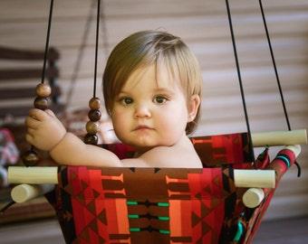 Baby Fabric Swing w/Pilow. Indoor/Outdoor Baby/Todler Swing. Baby Hammock