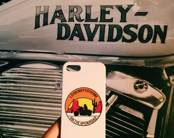 Motorcycle phone case Open Road motorcycle desert IPhone 5 5s case