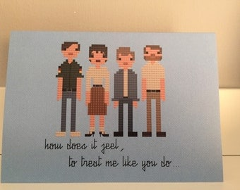New Order greeting card