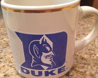 Vintage Duke University Mug