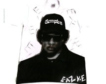 Eazy e hand painted, airbrushed t shirt