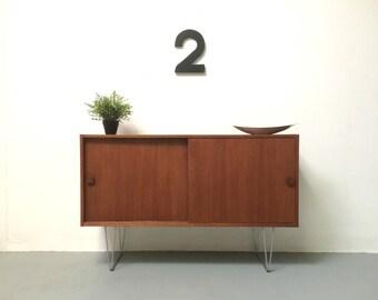 Original Danish Mid Century Sideboard / TV Cabinet - 1960s Retro