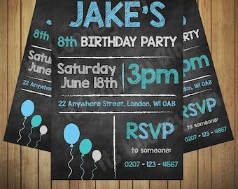 Invitation boy | Etsy