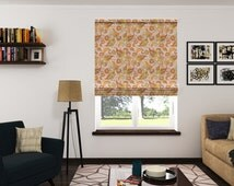 unique custom roman shades related items etsy. Black Bedroom Furniture Sets. Home Design Ideas