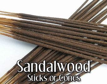 Sandalwood Incense | 20 cones or sticks