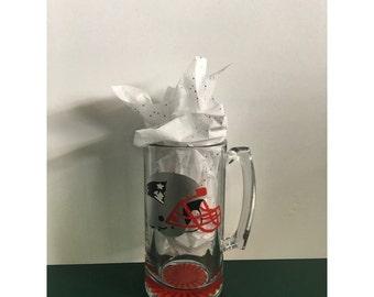 Patriots beer mug!