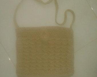 Handmade Knitted shoulder bag
