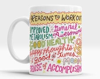 Work Out. Workout. Workout Motivation. Workout Inspiration. Leg Day. Fitness Mug. Mug Inspiration. Fitness Gift. Fitness Motivation.  Gym.