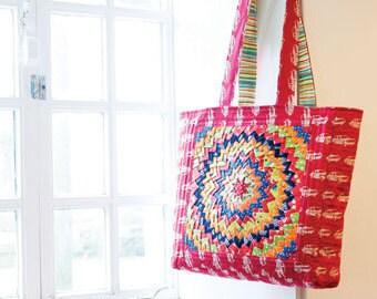 Starburst Tote Bag Sewing Pattern Download (803385)
