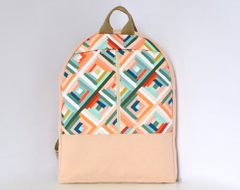 NEW, laptop bag, canvas backpack, pastel bag, laptop backpack, canvas rucksack, cotton canvas bag, cotton canvas backpack