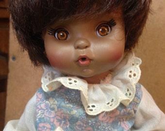 "1966 African American Effanbee Punkin Doll 10"""