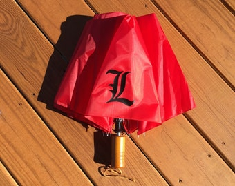 University of Louisville Adult Umbrella- Red umbrella- Louisville Umbrella - UofL