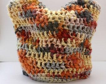 Little Animal Colourful Crochet Baby Beanie