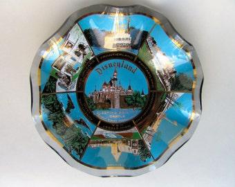 Vintage 60s Disneyland Sleeping Beauty's Castle Candy Dish