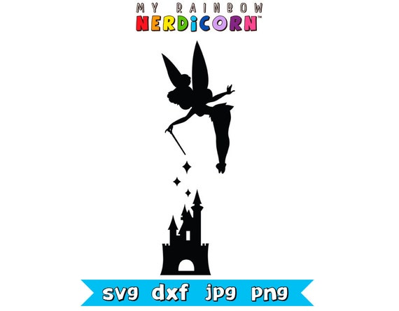 Disney svg files. Tinkerbell and Disney by MyRainbowNerdicorn