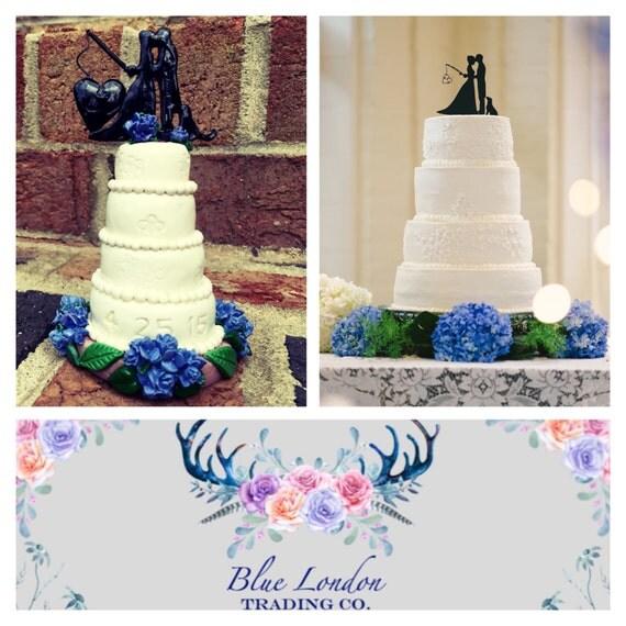 Custom Wedding Cake Replica Ornament Anniversary Gift