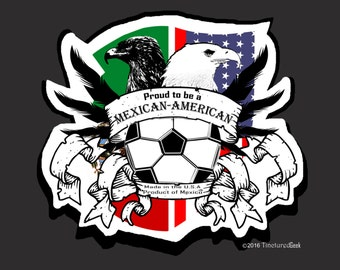 Mexican-American Soccer Fan T-Shirt/Polo
