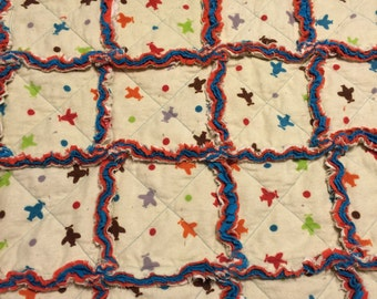 Airplane Baby Quilt