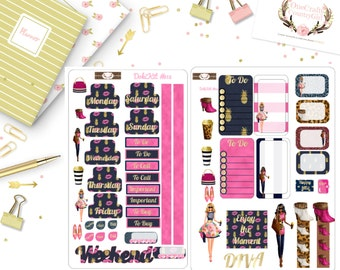 Diva Planner Stickers, Doki Disagenda, Planner Stickers, [DokiKit1-2#013]