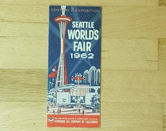 Seattle World's Fair brochure