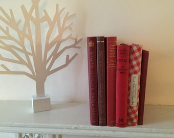 Home decor books by colour - Red