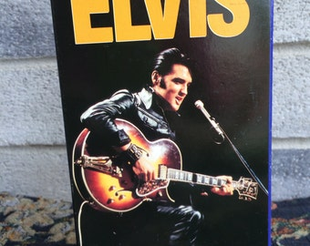 Elvis Presley, Elvis 68 comeback Special, Elvis Music video, Elvis VHS