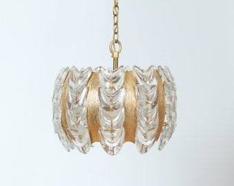 Glass Small Chandelier Vintage