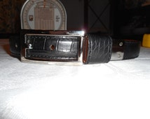 FREE SHIPPING! Ralph Lauren Genuine Alligator Belt Made in Italy Size Small