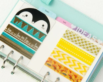 Carries washi tape _ dividers agenda