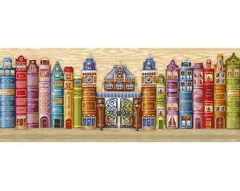 "Counted Cross Stitch Kit Make With Your Hands   - ""Kingdom of books"" - Christmas Gift"